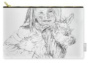 Emelyne With Er Dog Carry-all Pouch