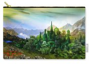Emerald City Carry-all Pouch by Mary Hood