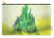 Emerald City Carry-all Pouch by Mo T