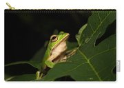 Emerald Eye Tree Frog Carry-all Pouch