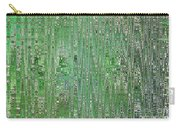 Emerald Green - Abstract Art Carry-all Pouch