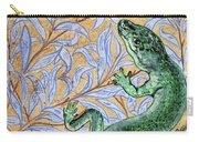 Emerald Lizard Carry-all Pouch