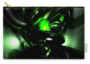 Emerald Nigthmares Abstract Carry-all Pouch
