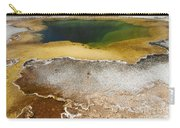 Emerald Pool - Yellowstone National Park Carry-all Pouch
