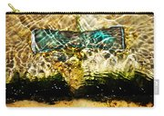 Emerald Ripples Carry-all Pouch