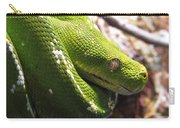 Emerald Tree Boa Carry-all Pouch