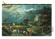 Emigrants Crossing The Plains Carry-all Pouch