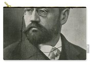 Emile Zola, French Author Carry-all Pouch by Photo Researchers