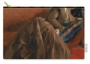 Emilie The Artist's Sister Asleep Carry-all Pouch