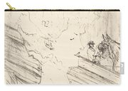 Emilienne D'alen?on Carry-all Pouch