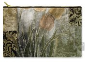 Emily Damask Tulips II Carry-all Pouch