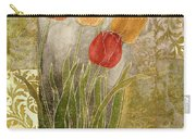 Emily Damask Tulips IIi Carry-all Pouch