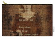 Emily Dickinson 4 Carry-all Pouch