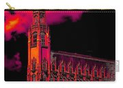 Emily Morgan Hotel With Fiery Sky Carry-all Pouch