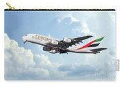 Emirates A380-800 A6-eer Carry-all Pouch