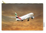 Emirates Boeing 777-36n 2 Carry-all Pouch