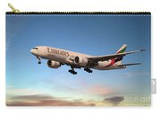 Emirates Boeing 777f A6-efm Carry-all Pouch