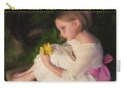 Emma Oil - Pink Bow Carry-all Pouch