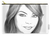 Emma Stone Carry-all Pouch