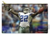 Emmitt Smith, Number 22, Running Back, Dallas Cowboys Carry-all Pouch