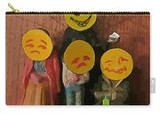 Emoji Family Victims Of Substance Abuse Carry-all Pouch