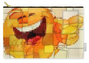 Emoticon Mosaic Cubism Carry-all Pouch