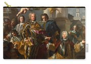 Emperor Charles Vi And Gundacker, Count Althann Carry-all Pouch