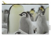 Emperor Penguin Pals 2 Carry-all Pouch