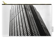 Empire State Building 1950s Bw Carry-all Pouch