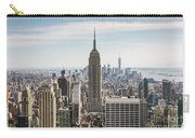 Empire State Building And Manhattan Skyline, New York City, Usa Carry-all Pouch
