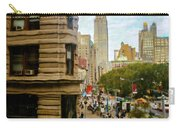 Empire State Building - Crackled View Carry-all Pouch
