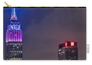 Empire State Building Esb At Night Carry-all Pouch