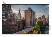 Empire State Building Sunset Rooftop Garden Carry-all Pouch