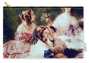 Empress Eugenie And Her Ladies In Waiting Carry-all Pouch