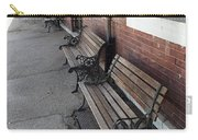 Empty Benches Carry-all Pouch