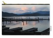 Empty Docks On Priest Lake Carry-all Pouch