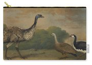 Emu, Cape Barren Goose And Magpie Goose Carry-all Pouch