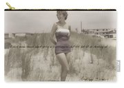 Emulating Marilyn Quote Carry-all Pouch