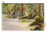 En Plein Air At Otter Falls Boat Launch Carry-all Pouch