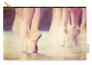 En Pointe Ballet Pose Carry-all Pouch