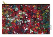 Enamel 1 Carry-all Pouch by James W Johnson