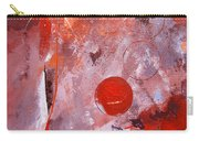 Encased In Red Carry-all Pouch