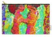 Encaustic  Love Carry-all Pouch