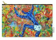 Encaustic  Man  Jumping Carry-all Pouch