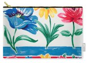 Enchanted Florals Carry-all Pouch