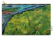 Enclosed Wheat Field With Rising Sun, By Vincent Van Gogh, 1889, Carry-all Pouch