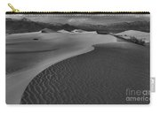 Endless Dunes Black And White Carry-all Pouch