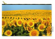 Endless Sunflowers Carry-all Pouch