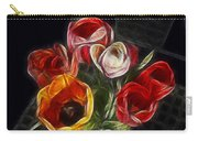 Energetic Tulips Carry-all Pouch