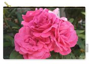 Energizing Pink Roses Carry-all Pouch